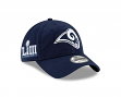 Los Angeles Rams New Era 9Twenty NFL Super Bowl LIII Patch Adjustable Hat