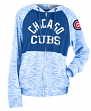 "Chicago Cubs Women's New Era MLB ""Roundtrip"" Full Zip Hooded Sweatshirt"