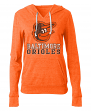 "Baltimore Orioles Women's New Era MLB ""Triple"" Tri-Blend Hooded Shirt"