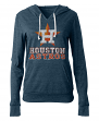 "Houston Astros Women's New Era MLB ""Triple"" Tri-Blend Hooded Shirt"