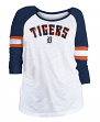 "Detroit Tigers Women's New Era MLB ""Baseball"" 3/4 Sleeve Raglan Shirt"