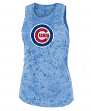 "Chicago Cubs Women's New Era MLB ""Fastball"" Dual Blend Tank Top"