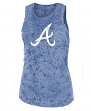 "Atlanta Braves Women's New Era MLB ""Fastball"" Dual Blend Tank Top"
