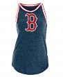 "Boston Red Sox Women's New Era MLB ""Curveball"" Tri-Blend Tank Top"