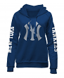 "New York Yankees Women's New Era MLB ""Home Run"" Pullover Hooded Sweatshirt"