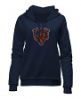 "Chicago Bears Women's New Era NFL ""Post Route"" Pullover Hooded Sweatshirt"