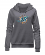 "Miami Dolphins Women's New Era NFL ""Post Route"" Pullover Hooded Sweatshirt"